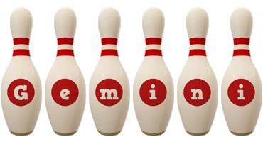 Gemini bowling-pin logo