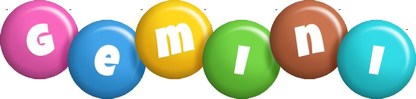Gemini candy logo