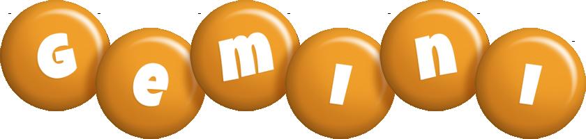 Gemini candy-orange logo