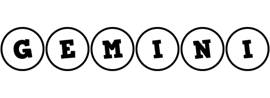 Gemini handy logo