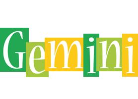 Gemini lemonade logo