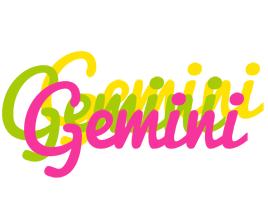 Gemini sweets logo
