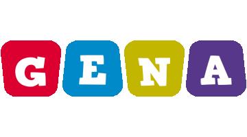 Gena daycare logo