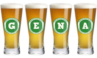 Gena lager logo