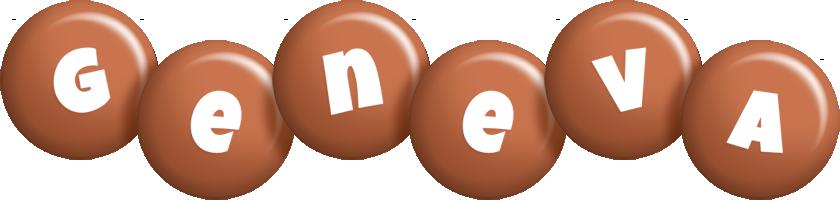 Geneva candy-brown logo