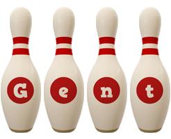 Gent bowling-pin logo