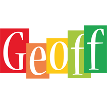 Geoff colors logo
