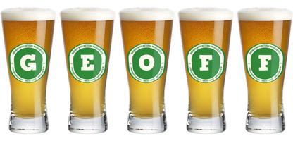 Geoff lager logo