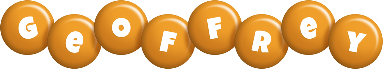 Geoffrey candy-orange logo