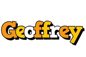 Geoffrey cartoon logo