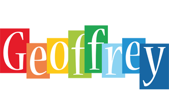 Geoffrey colors logo