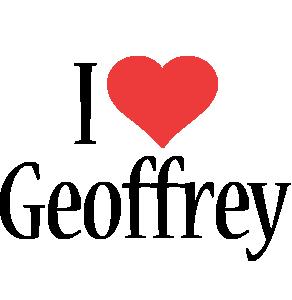 Geoffrey i-love logo