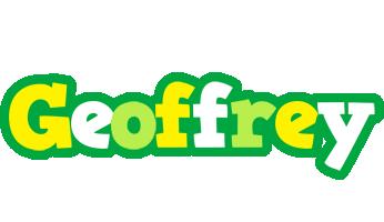 Geoffrey soccer logo