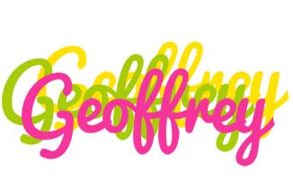Geoffrey sweets logo