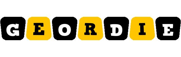 Geordie boots logo