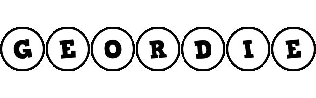 Geordie handy logo