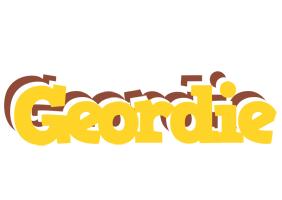 Geordie hotcup logo