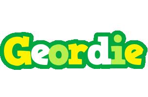 Geordie soccer logo