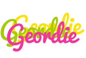 Geordie sweets logo