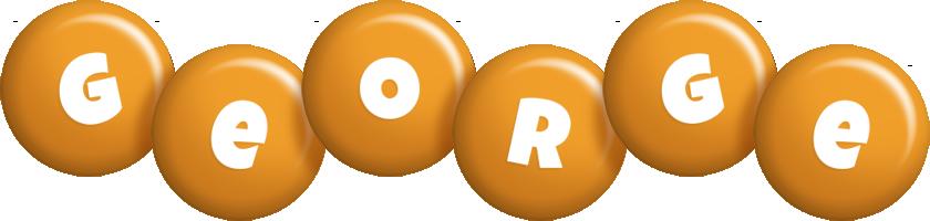 George candy-orange logo