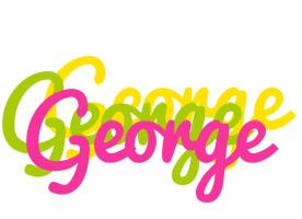 George sweets logo