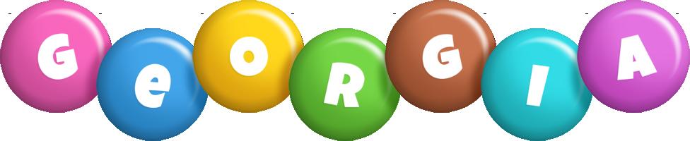 Georgia candy logo