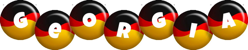 Georgia german logo