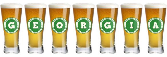 Georgia lager logo