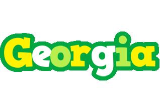 Georgia soccer logo