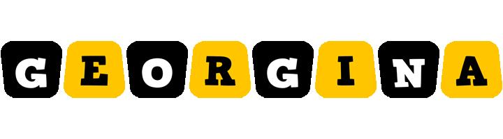 Georgina boots logo