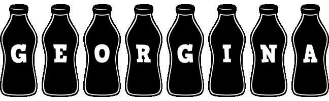 Georgina bottle logo