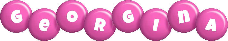 Georgina candy-pink logo