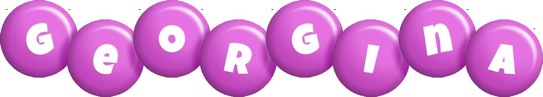 Georgina candy-purple logo
