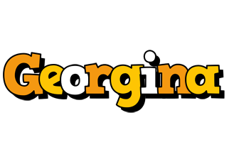 Georgina cartoon logo