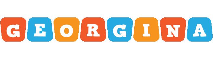 Georgina comics logo