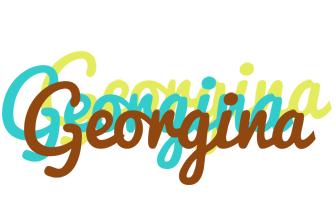 Georgina cupcake logo