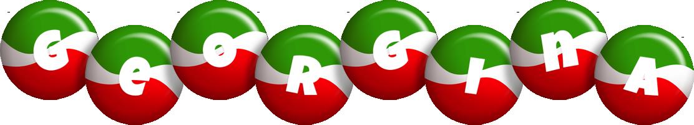 Georgina italy logo