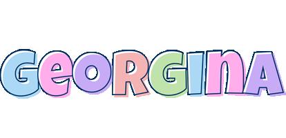 Georgina pastel logo