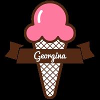 Georgina premium logo
