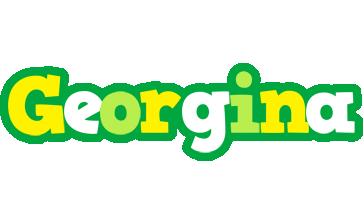 Georgina soccer logo