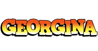 Georgina sunset logo