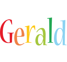 Gerald birthday logo