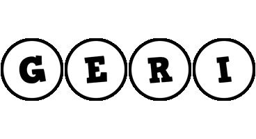 Geri handy logo