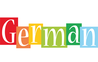 German colors logo