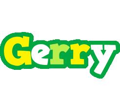 Gerry soccer logo