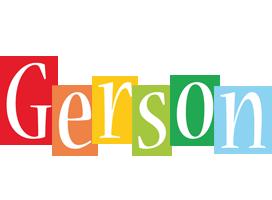 Gerson colors logo