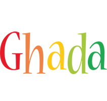 Ghada birthday logo