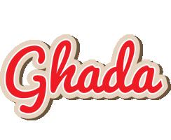 Ghada chocolate logo