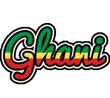 Ghani african logo