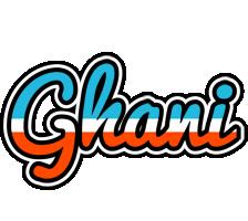 Ghani america logo